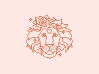 Cotton Flower Lion