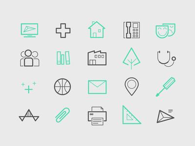 ingebois icons icons line minimal brand identity branding