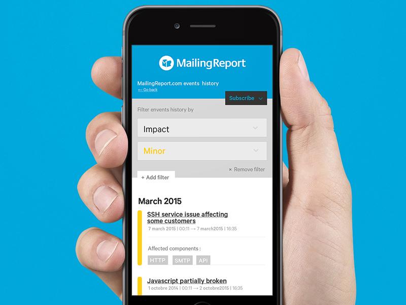 Kweed history filter filter mobile dashboard widget ui flat minimal type clean app