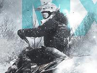 snow + mx poster