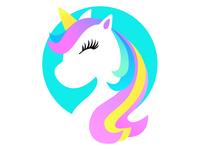 阳光彩虹小白马 illustration