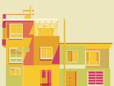 Candy Coloured Buildings