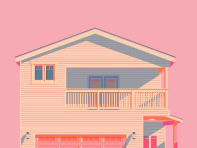 Pink Sun House