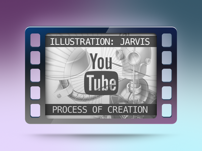 Jarvis Illustration - Process Of Creation
