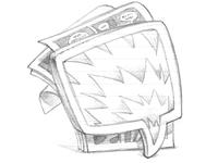 ComicBunch Icon Sketch