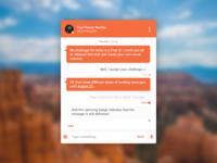 Chat UI - rebound