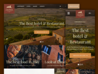 Casa Rossa Hotel responsive site responsive adaptive sketch app hotel mobile tablet site web