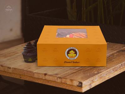 Pastel Baker - Packaging cupcake baker pastel baking cake logodesign design packaging logo branding