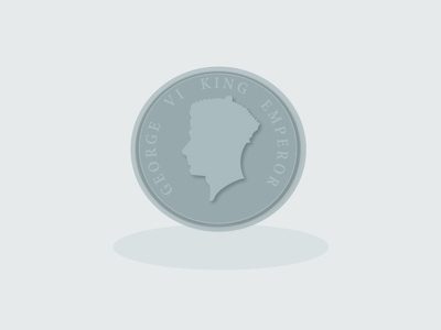 Coin vector illustration design