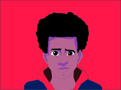Miles vector illustration design