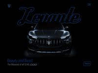 Maserati Levante | Sample Landing