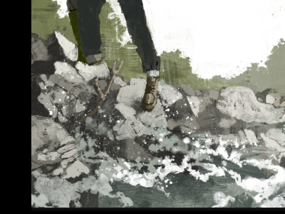 Step colour illustration wip marc aspinall
