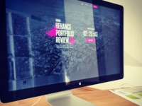 Preps for Behance Portforlio Review #3 at DtailStudio