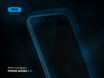 Code name: Blue free psd iphone 6 plus iphone 6 space galaxy devices ios app ux ui dtailstudio