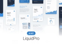 LiquidPro UI Kit - Free Download