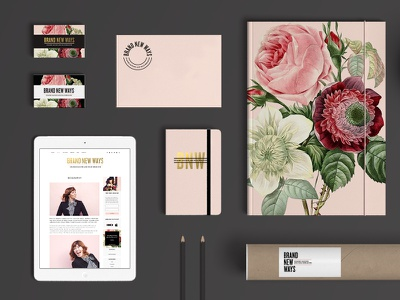 Brand New Ways Collateral collateral print web