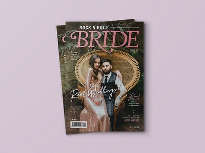 Rock n Roll Bride Magazine editorial print