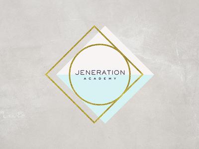 Jeneration Academy branding logo