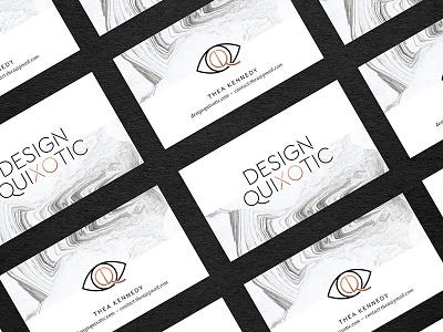 Design Quixotic business cards print