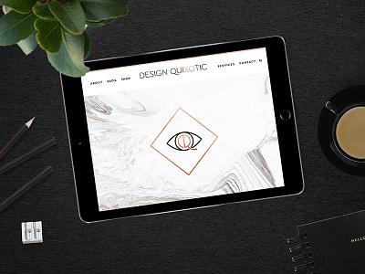 Design Quixotic website branding