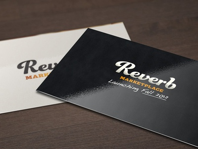 Logo Design for Reverb (2012) brand design audio logo