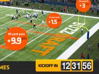 Buzzdraft Football Promo Page