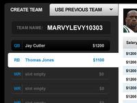 Salary Draft Screen