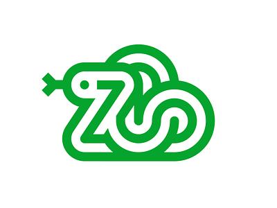 Zoo / Reptiles identity vector animal typography symbol snake illustration illustrations design branding reptiles snake zoo logotype mark logo