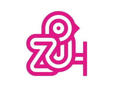 Zoo / Birds lines identity vector birds animals animal typography symbol bird illustration illustrations design branding bird zoo logotype mark logo