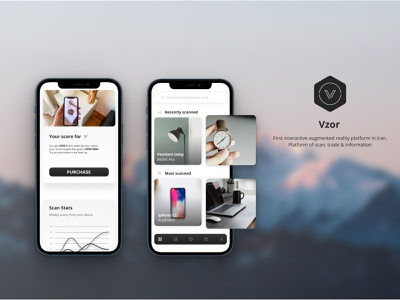Lifestyle augmented reality app #1 augmented reality persona usability application ux branding graphic design