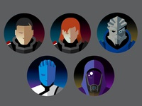 Icon Project - Mass Effect