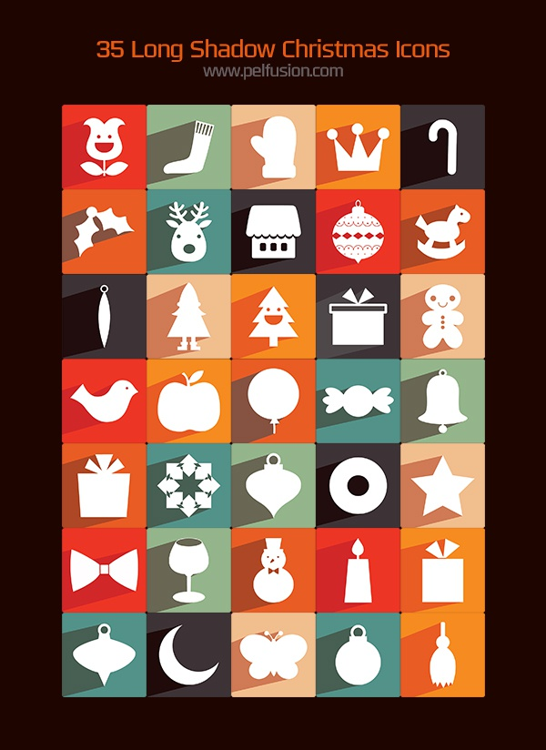 35 chrismtas icons