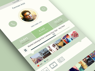 iOS7 App Design