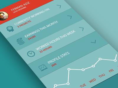 Designer Home Screen App - Free PSD by Ferman Aziz - Dribbble