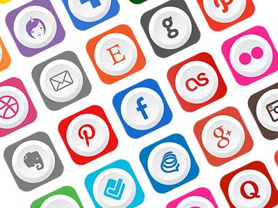 Free social media icons 400