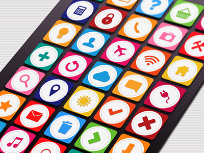 35 Android Setting Icons Set  - Free Vector free freebies mobile android icons png vector ai