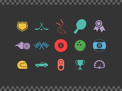 100 Sport & Fitness Icons - FREE! free freebies android icons app icons sport fitness