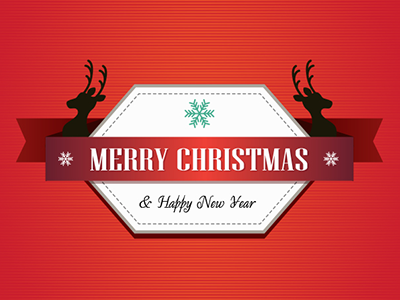 Free christmas and happy new year greeting cards by ferman aziz christmas greeting card dribbble m4hsunfo