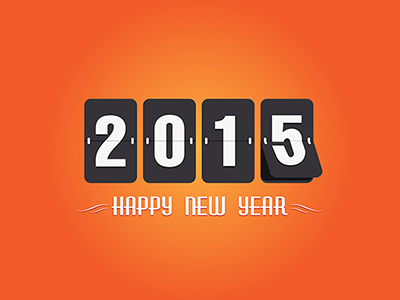 8 Vector Happy New Year Greeting Cards - FREE free happy new year greeting cards vector 2015