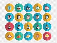 100 Free Folded Icons