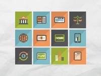 50 finance icons set 1
