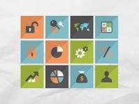 50 finance icons set 2