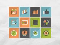 50 finance icons set 4
