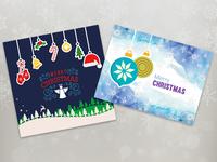 Christmas greeting cards 1 2