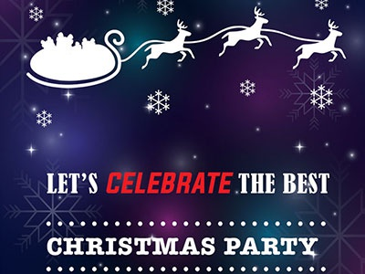Free Christmas Flyer PSD File