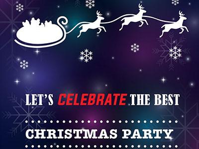 Free Christmas Flyer PSD File psd party flyer xmas christmas
