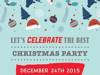 Chrismas party flyer2