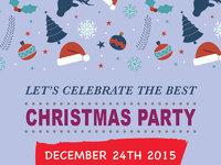 Chrismas party flyer2b