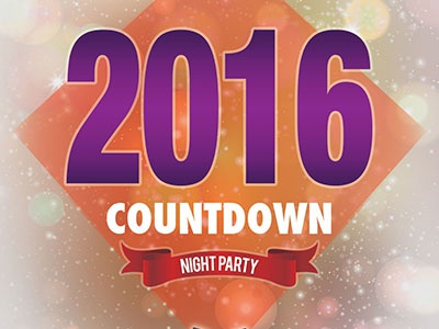New Year Party Flyer - PSD File Free 2016 new year flyer psd freebies free