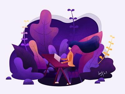 20190819 work design illustration